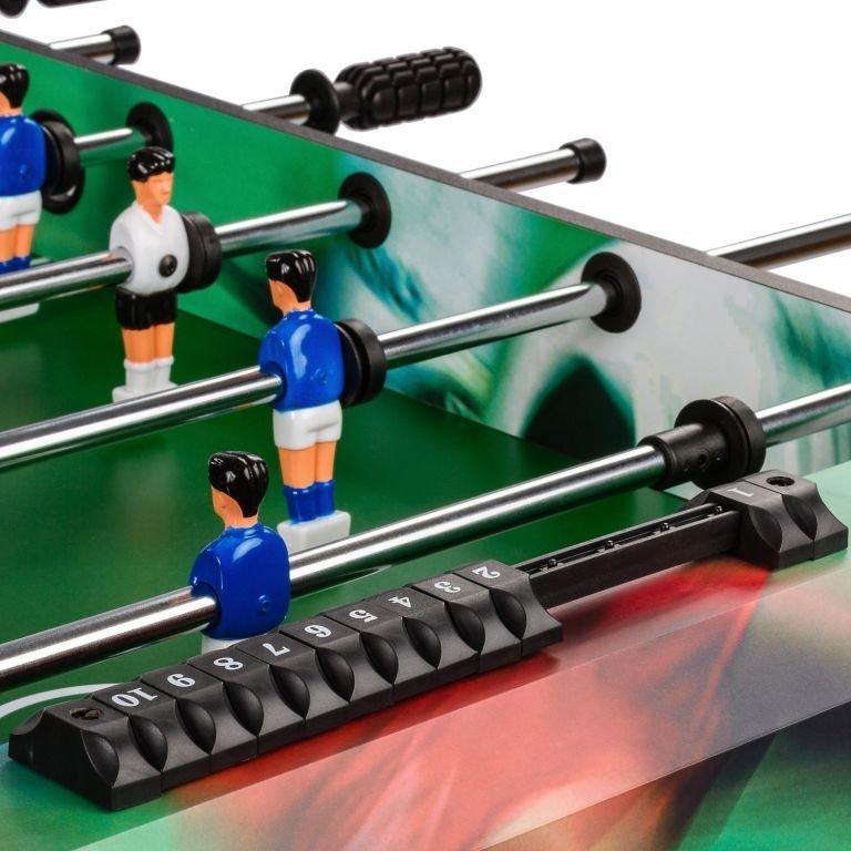 Stolní fotbal fotbálek rozkládací Belfast - 121 x 101 x 79 cm