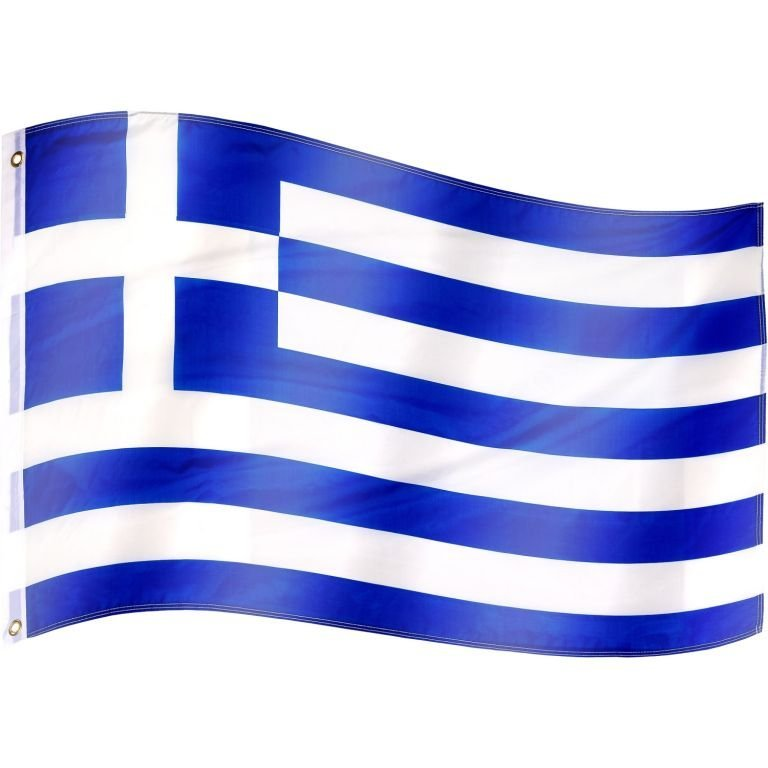 Vlajka Řecko - 120 cm x 80 cm