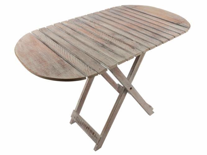Skládací stolek DIVERO Vintage - 85 cm