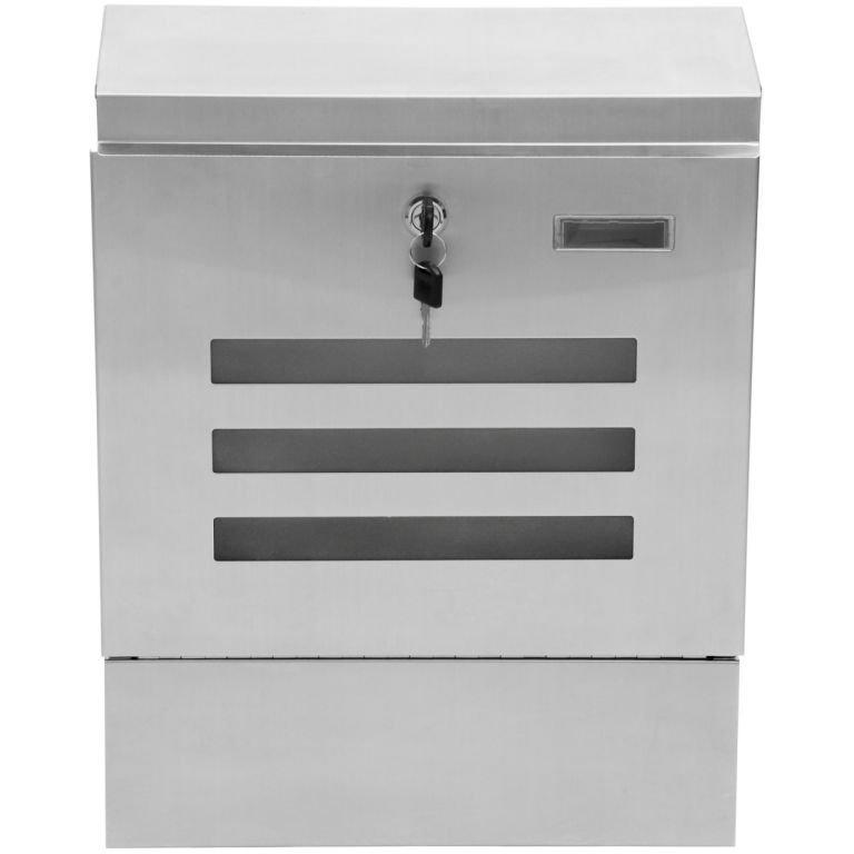 Poštová schránka nerezová