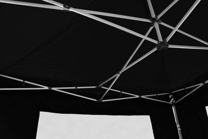 Náhradná strecha k PROFI stanu 3 x 3 m, čierna