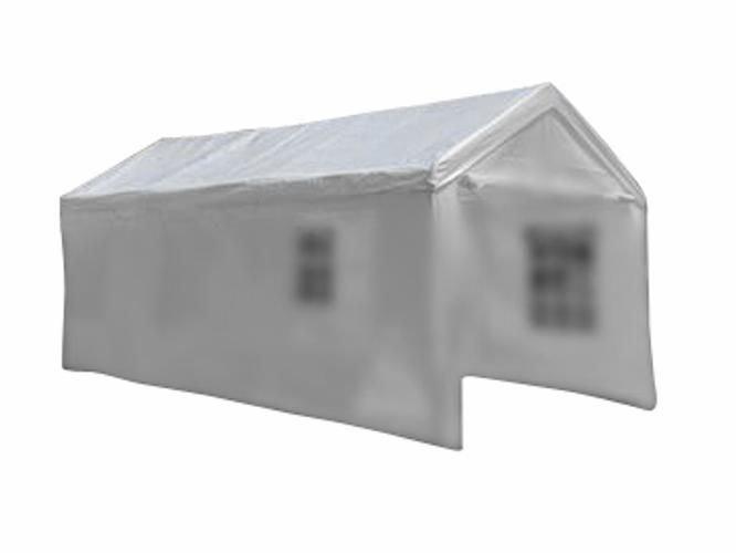 Náhradná strecha k záhradnému stanu 4 x 8 m - biela