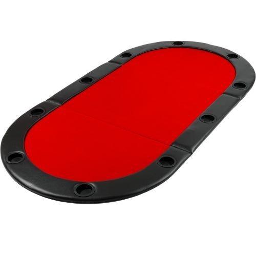 Poker podložka skladacia červená