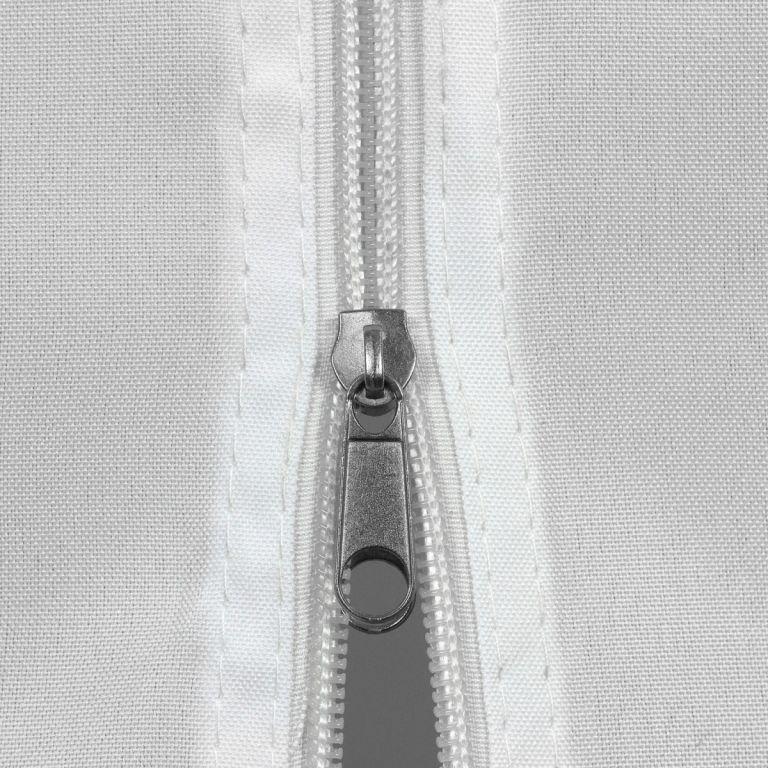 Náhradná bočná stena ku stanu so zipsom - biela