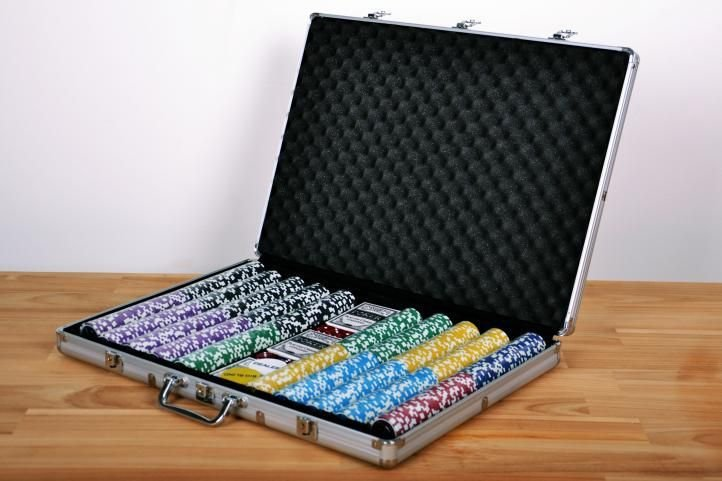 Pokerový kufor 1 000 ks žetónov ULTIMATE