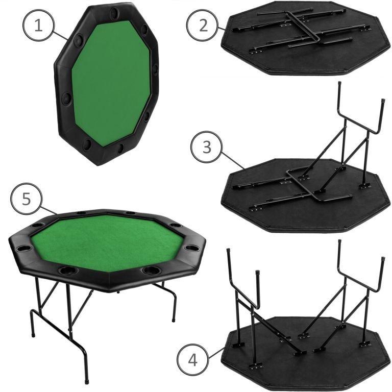 Pokrový stôl - zelený
