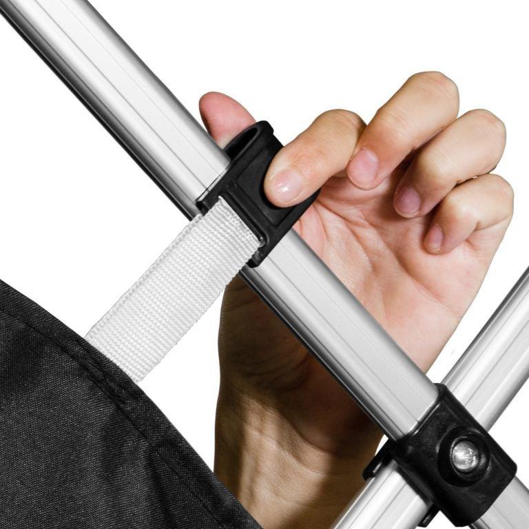 Záhradný párty stan nožnicový INSTENT 3 x 3 m - biela