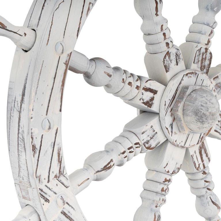 Garthen dřevěné kormidlo stylová rustikální dekorace - 60 cm
