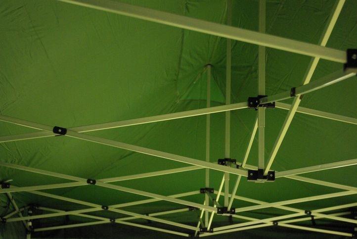 Záhradný skladací stan - zelený, 3 x 9 m