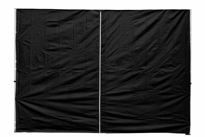 Sada 2 bočných stien pre PROFI záhradný stan 3 x 3 m čierna