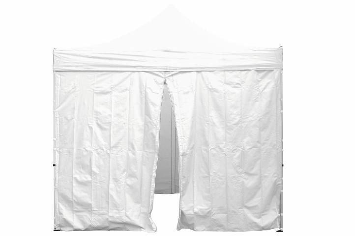 Sada 2 bočných stien pre PROFI záhradný stan 3 x 3 m biela