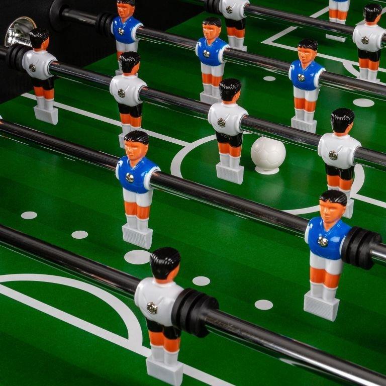 Stolný futbal Liverpool 141 x 125 x 89 cm - hnedý