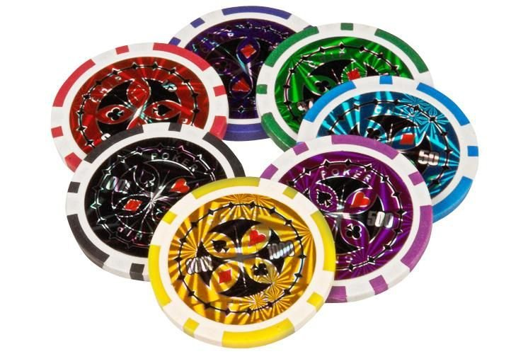 Poker set 1000 ks žetónov OCEAN Trolley CHAMPION CHIP