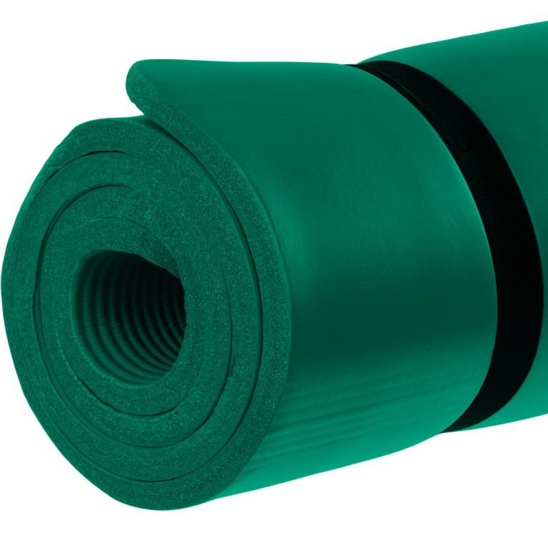 Gymnastická podložka MOVIT 183 x 60 x 1 cm - tmavozelená