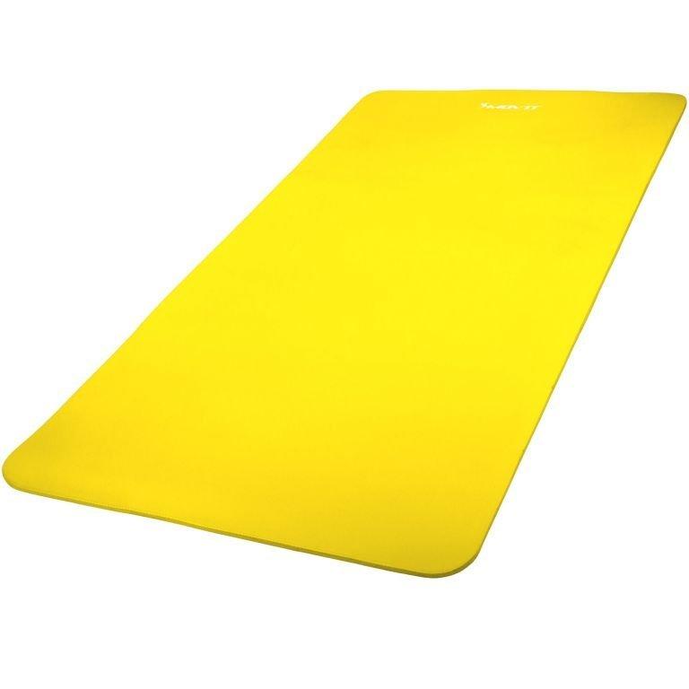Gymnastická podložka MOVIT 183 x 60 x 1 cm - žltá