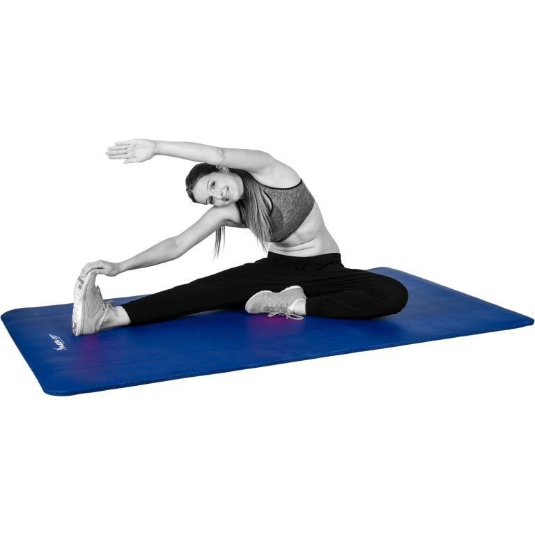 Gymnastická podložka MOVIT 183 x 60 x 1 cm - kráľovská modrá