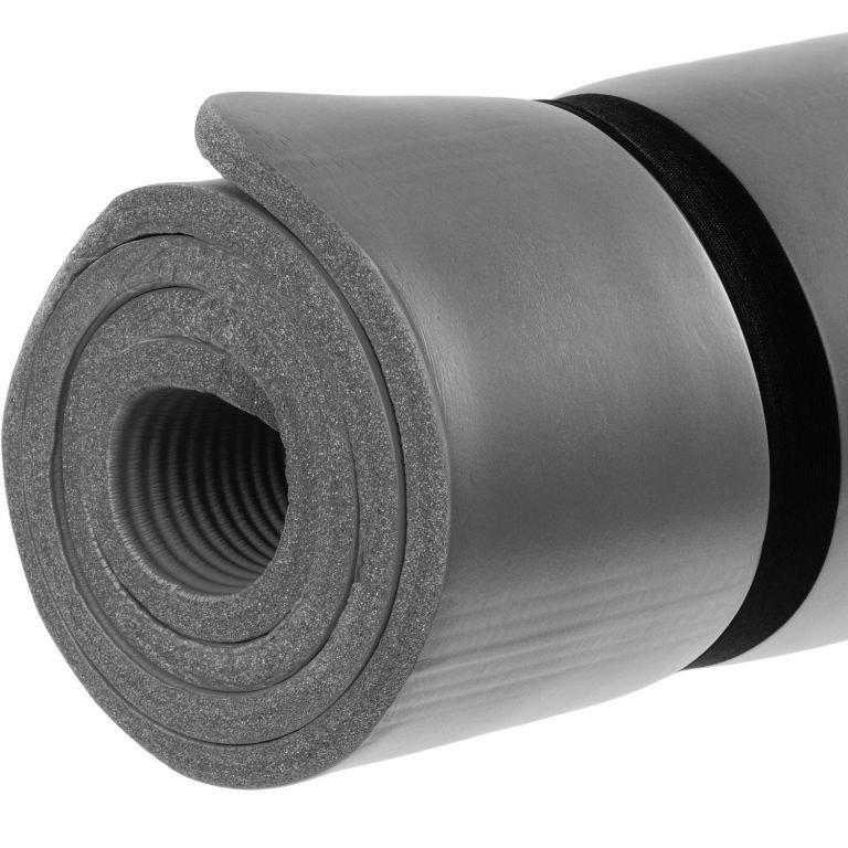 Gymnastická podložka MOVIT 183 x 60 x 1 cm - sivá