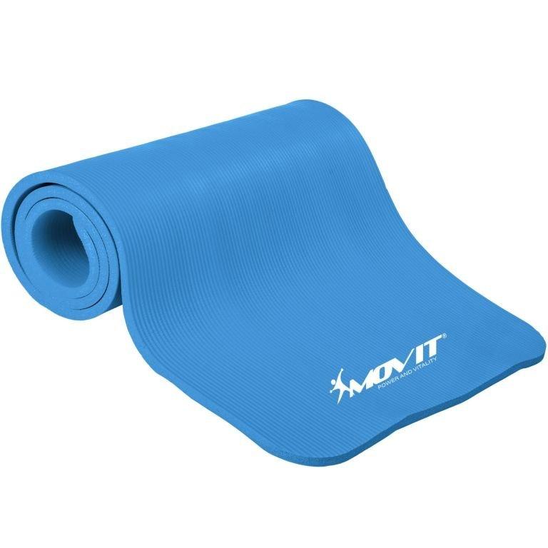 Gymnastická podložka MOVIT 183 x 60 x 1 cm - blankytne modrá