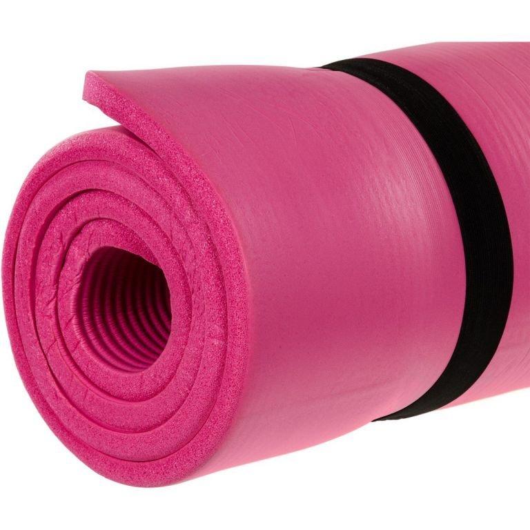 Podložka na jógu 190 x 100 x 1,5 cm - ružová