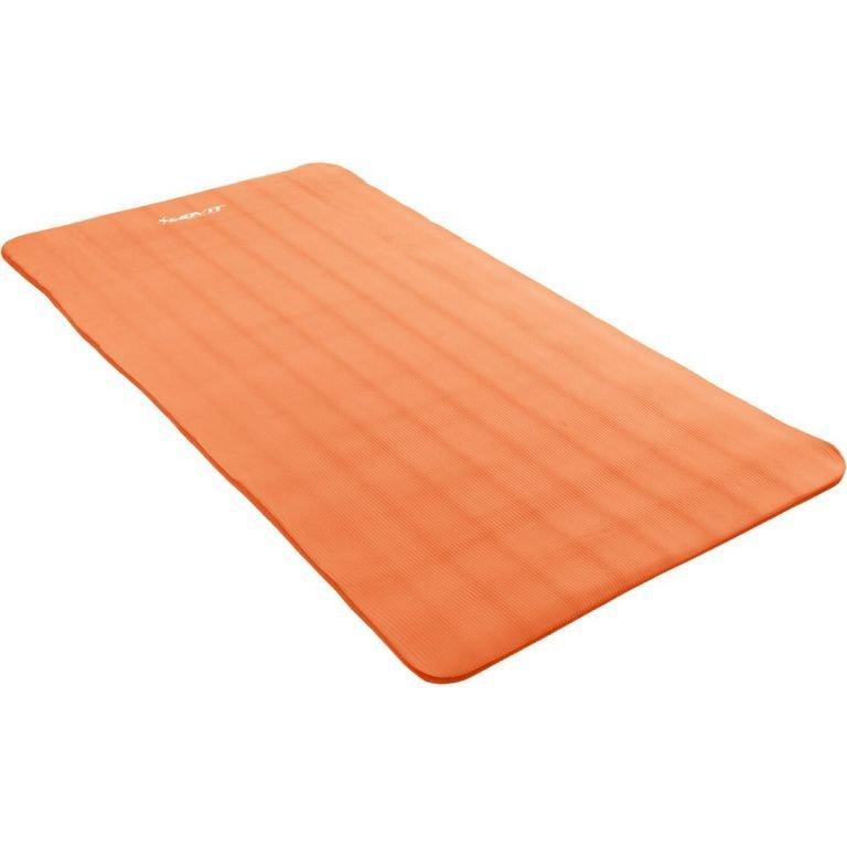 Podložka na jógu MOVIT 190 x 100 x 1,5 cm – oranžová
