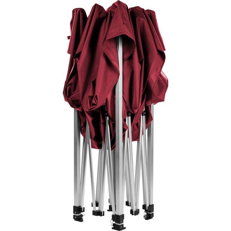 """Stan INSTENT """"PRO"""" s pojízdnou taškou - 3 x 3 m, vínový"""