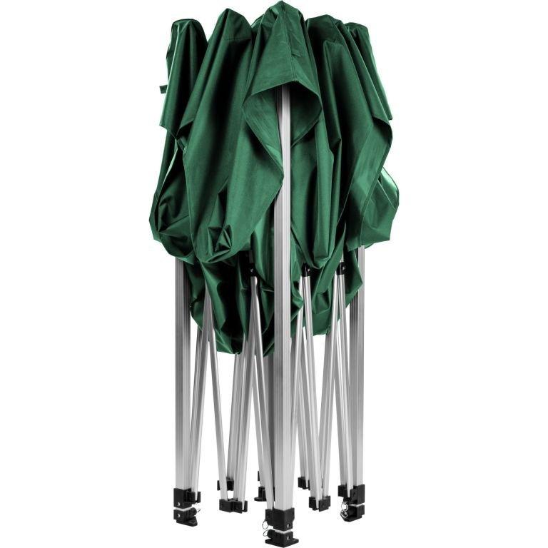 """Stan INSTENT """"PRO"""" s pojízdnou taškou - 3 x 3 m, zelený"""