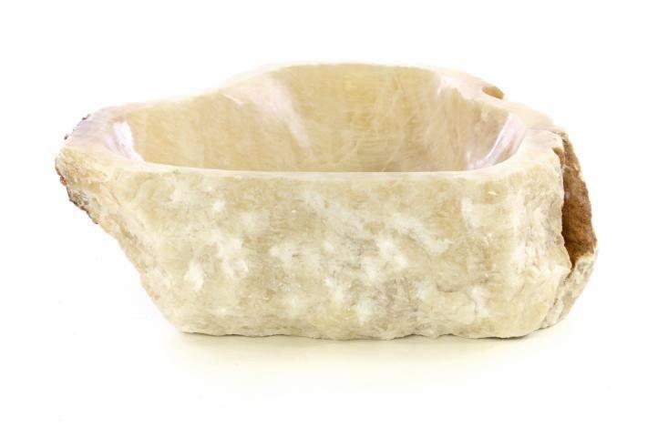 Umyvadlo z přírodního kamene onyx - na desku