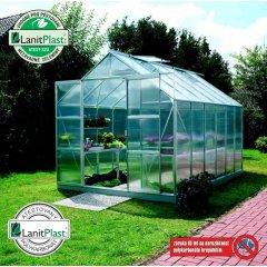 skleník VITAVIA URANUS 9900 PC 6 mm strieborný