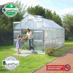 skleník VITAVIA URANUS 11500 PC 4 mm strieborný