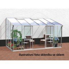 skleník VITAVIA IDA 7800 PC 4 mm strieborný