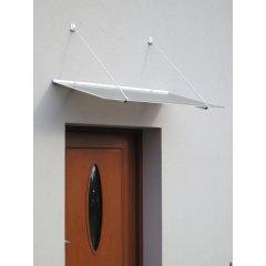 vchodová strieška LANITPLAST SP1 120/70 biela