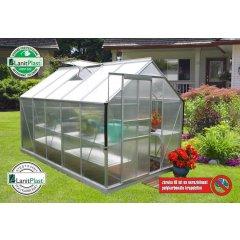 skleník VITAVIA TARGET 6200 PC 4 mm strieborný