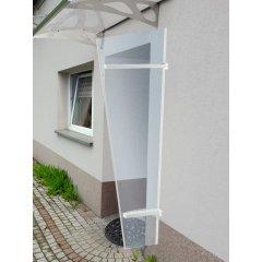 univerzálna bočná stena LANITPLAST UNI biela / PLEXI