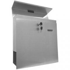 Nástenná poštová schránka z ušľachtilej ocele