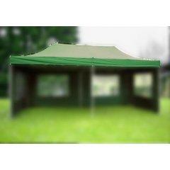 Náhradná strecha k nožnicovému stanu 3 x 6 m, zelená