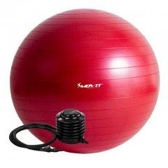 Gymnastická lopta MOVIT s pumpou - 85 cm – červená