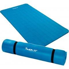 Podložka na jógu 190 x 100 x 1,5 cm, modrá