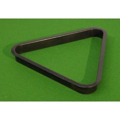 Trojuholník plastový čierny 57,2 mm