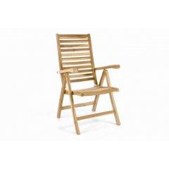 Polohovateľná záhradná stolička DIVERO