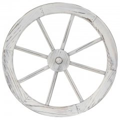 Garthen drevené koleso, štýlová dekorácia - 45 cm