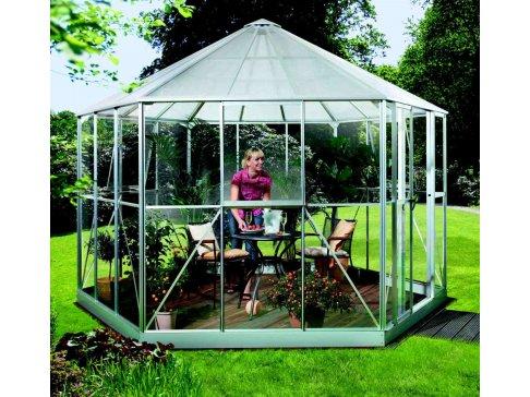 Záhradný pavilón HERA 9000 strieborný