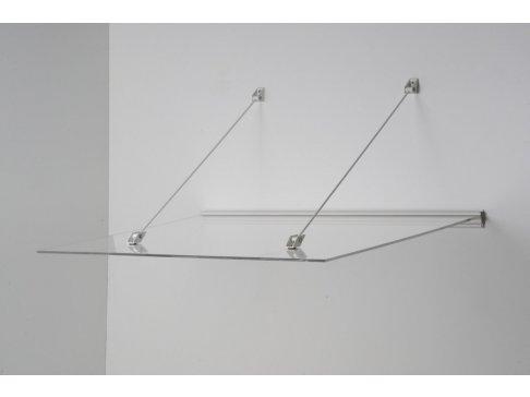 vchodová strieška LANITPLAST LAZUR 150/97 biela
