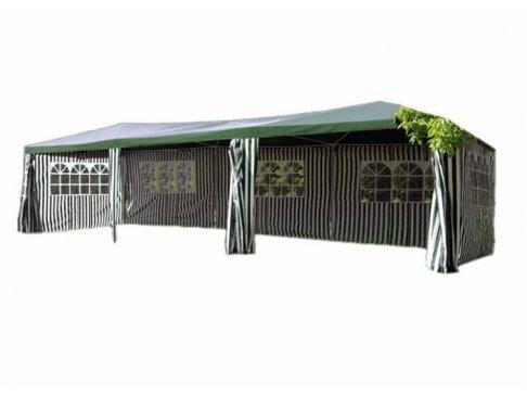 Záhradný stan - zelený, 3 x 9 m