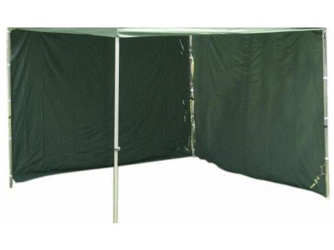 Sada 2 bočných stien pre PROFI záhradné stany 3 x 3 m - zelená