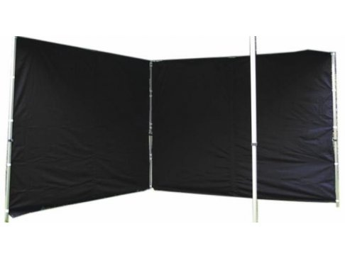 Sada 2 bočných stien pre PROFI záhradný stan 3 x 3 m - čierna