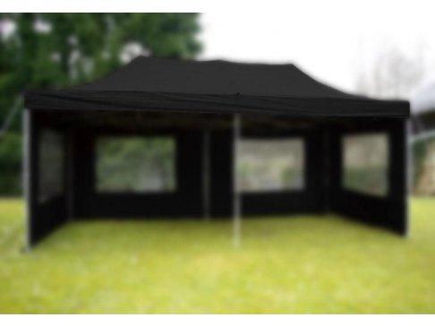 Strecha k záhradnému stanu - 3 x 6 m - čierna
