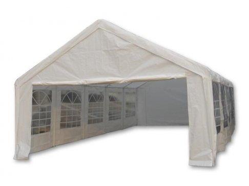 Záhradný stan - biely, 5 x 10 m