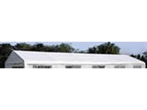 Náhradná strecha k párty stanu 5 x 10 m, biela