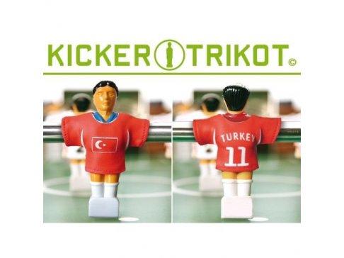 Náhradné futbalové dresy Turecka 11 ks