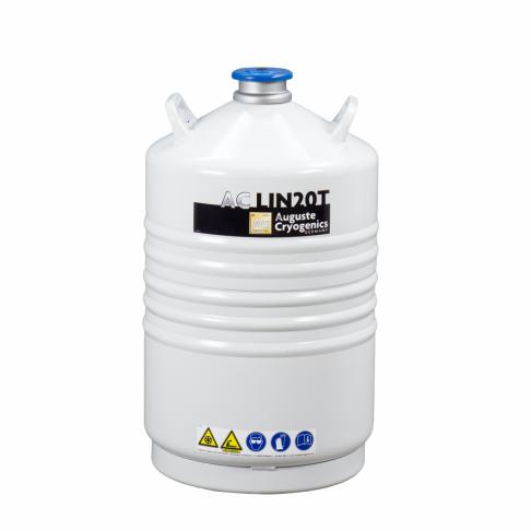 Dewarova nádoba na kapalný dusík 30 litrů